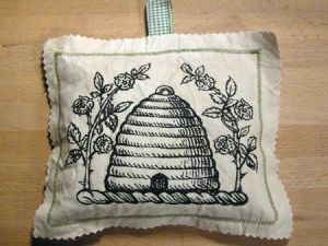 Beehive Sachet - keep those moths away!