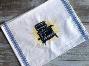 Brilliant Stove Tea Towel - discontinued