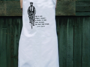 Einstein Quote Apron