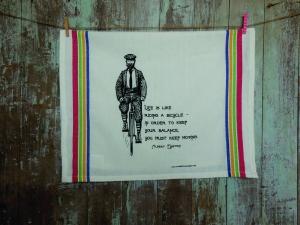 Einstein Quote Tea Towel