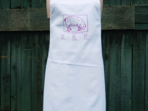 Know your bacon!  Cuts of Pork Apron