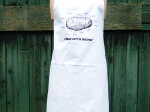 The humble potato - Choice Cuts of Potato Butcher Chart Apron