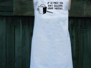 There's Always Takeout Apron